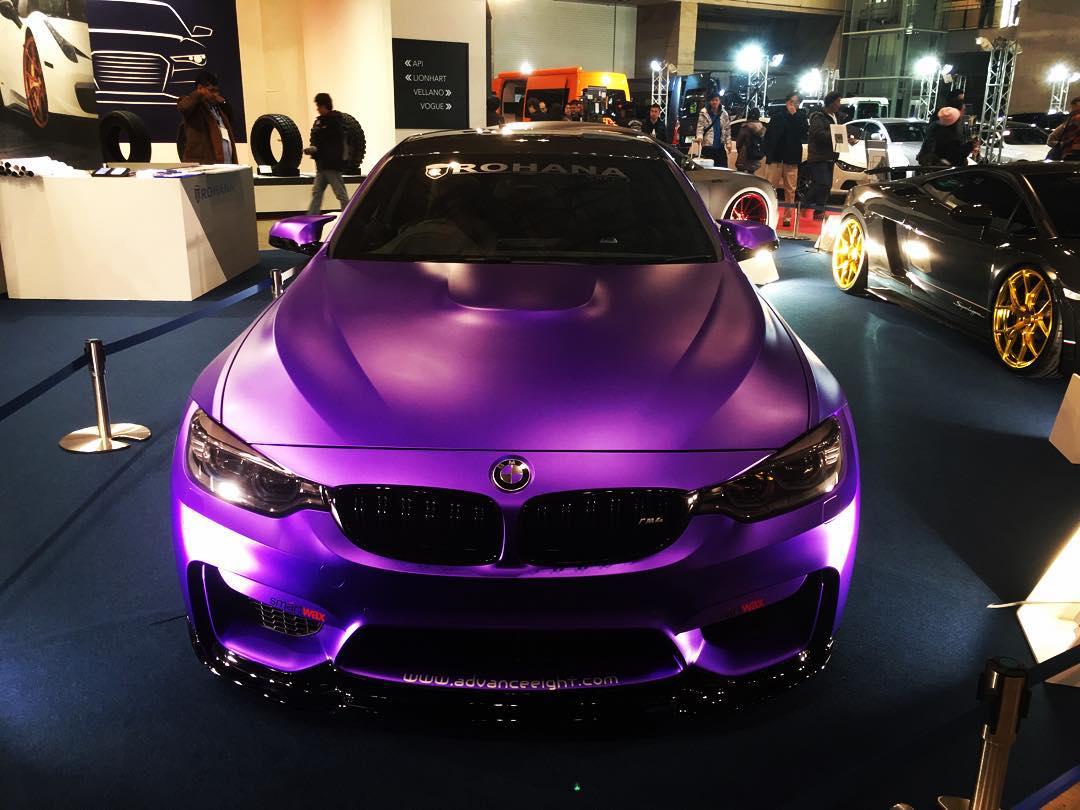 фиолетовый хром текврап