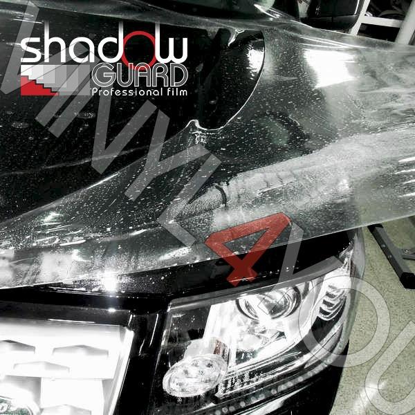 Прозрачная полиуретановая антигравийная плёнка Shadow Guard Clear Shield - Купить в Омске